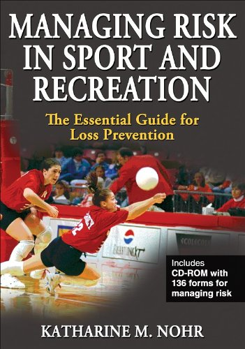 Managing Risk in Sport and Recreation The Essential Guide for Loss Prevention  2009 9780736069335 Front Cover