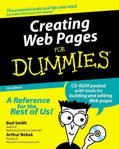Creating Web Pages for Dummies  5th 2000 9780764507335 Front Cover