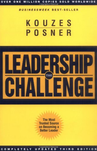 Leadership Challenge  3rd 2002 (Revised) edition cover