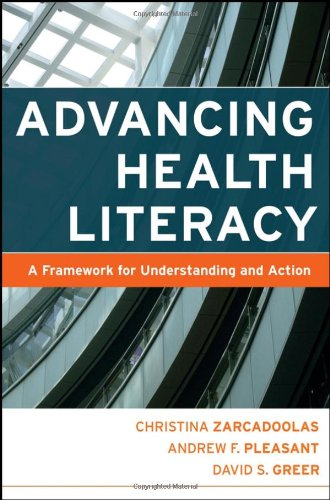 Advancing Health Literacy A Framework for Understanding and Action  2006 edition cover