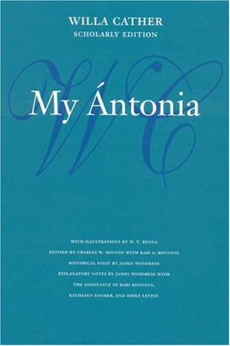 My �ntonia  2nd (Revised) edition cover
