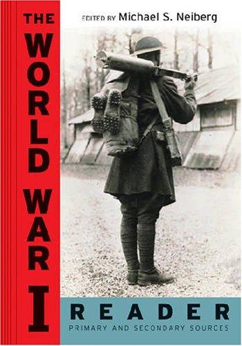 World War I Reader   2006 edition cover
