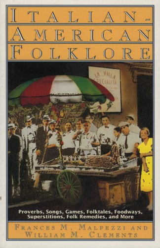 Italian-American Folklore  N/A edition cover