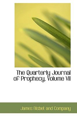 Quarterly Journal of Prophecy N/A edition cover