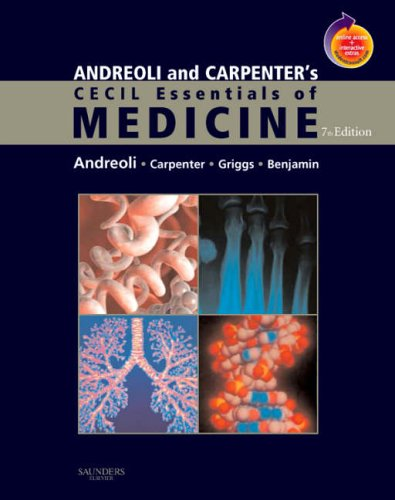 Andreoli and Carpenter's Cecil Essentials of Medicine  7th 2007 (Revised) edition cover