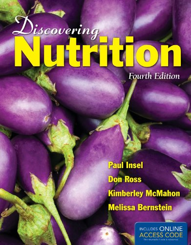 Discovering Nutrition  4th 2013 edition cover