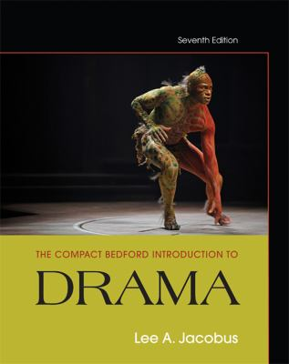 Compact Bedford Introduction to Drama  7th 2013 edition cover