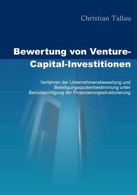 Bewertung Von Venture-Capital-Investitionen  N/A 9783833466335 Front Cover