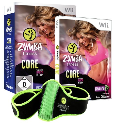 ZUMBA FITNESS: CORE Nintendo Wii artwork