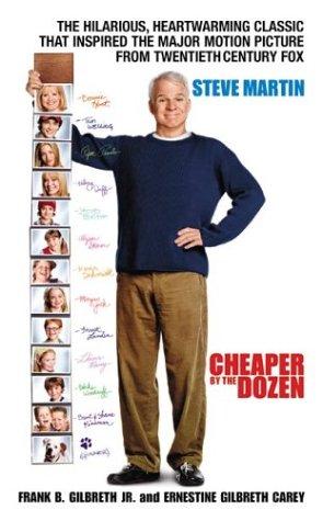 Cheaper by the Dozen  Movie Tie-In 9780060594336 Front Cover