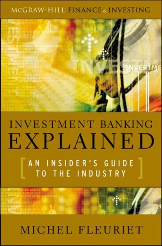 Investment Banking Explained An Insider's Guide to the Industry  2008 edition cover