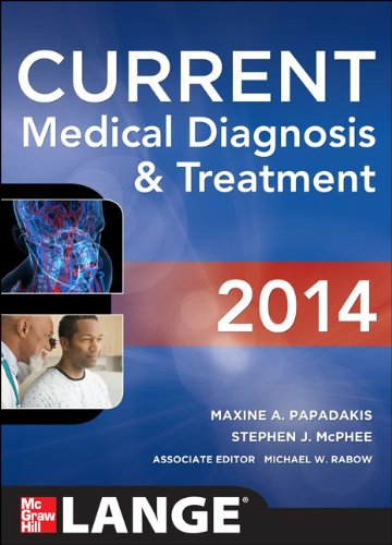 CURRENT Medical Diagnosis and Treatment 2014  53rd 2014 edition cover