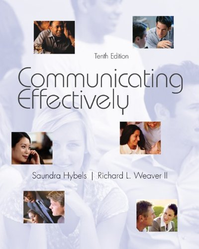 Communicating Effectively  10th 2012 edition cover