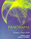 PANORAMA:WORLD HISTORY FROM 1300,V.2    N/A edition cover