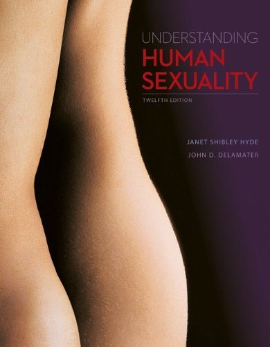 Understanding Human Sexuality  12th 2014 edition cover