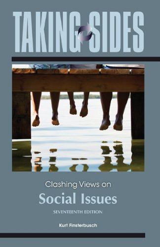 Taking Sides: Clashing Views on Social Issues  17th 2013 edition cover