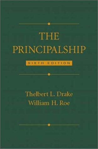 Principalship  6th 2003 edition cover