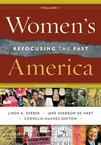 Women's America, Volume 1 Refocusing the Past 7th 2011 edition cover