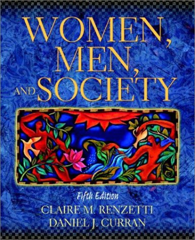 Women, Men, and Society  5th 2003 (Revised) 9780205335336 Front Cover