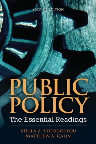 Public Policy The Essential Readings 2nd 2013 (Revised) edition cover