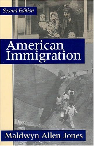 American Immigration  2nd 1992 (Reprint) edition cover