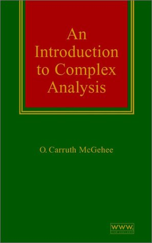 Introduction to Complex Analysis   2000 9780471332336 Front Cover