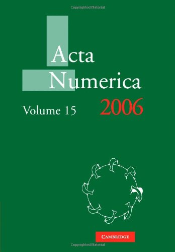 Acta Numerica 2006: Volume 15   2010 9780521174336 Front Cover