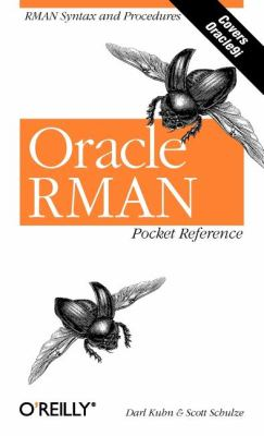 Oracle RMAN Pocket Reference   2001 edition cover