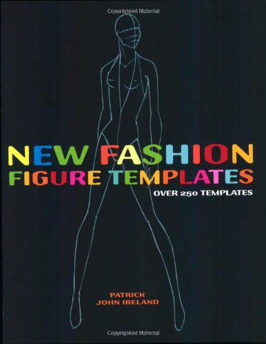 New Fashion Figure Templates Over 250 Templates  2007 edition cover