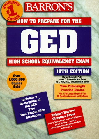 How to Prepare for the High School Equivalency Exam-GED  10th 1998 (Revised) 9780764104336 Front Cover