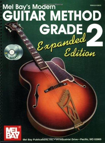 Mel Bay's Modern Guitar Method Grade 2  Expanded edition cover