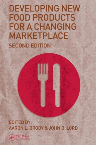 Developing New Food Products for a Changing Marketplace  2nd 2007 (Revised) edition cover