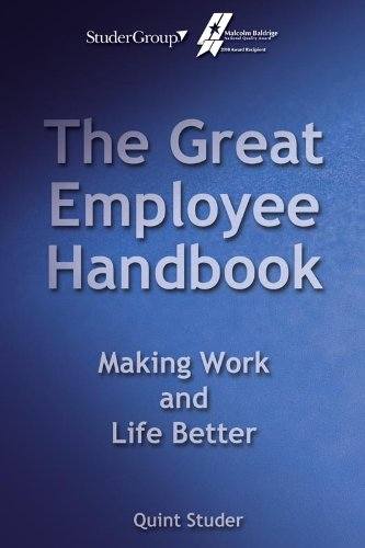 The Great Employee Handbook: Making Work and Life Better  2012 edition cover