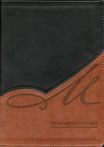 Macarthur Study Bible   2012 9781401677336 Front Cover