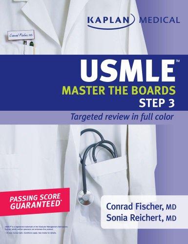 Kaplan Medical USMLE Master the Boards Step 3   2009 edition cover