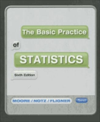 Basic Practice of Statistics (Loose Leaf) and CDR  6th 2012 edition cover