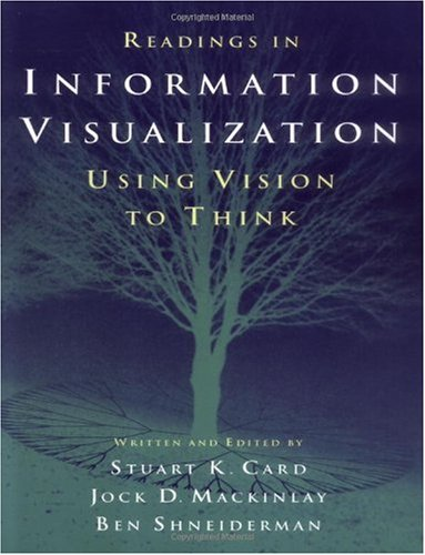 Readings in Information Visualization Using Vision to Think  1999 edition cover