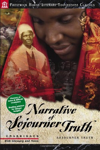 Narrative of Sojourner Truth Literary Touchstone Classic  2007 edition cover