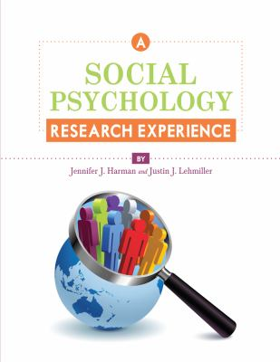 Social Psychology Research Experience   2012 edition cover