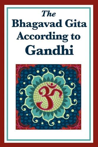 Bhagavad Gita According to Gandhi  N/A edition cover