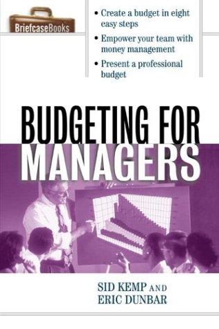 Budgeting for Managers   2003 edition cover