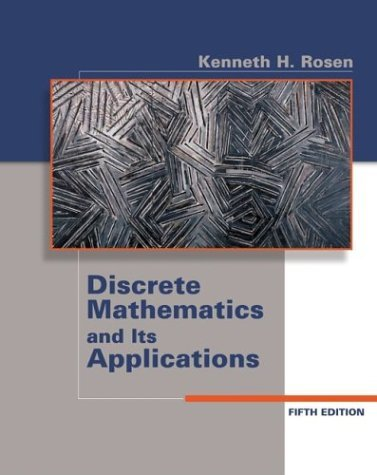 Discrete Mathematics and Its Applications  5th 2003 (Revised) edition cover