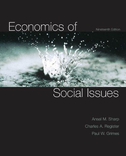 Economics of Social Issues  19th 2010 edition cover