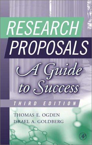 Research Proposals A Guide to Success 3rd 2002 (Revised) edition cover