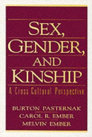 Sex, Gender, and Kinship A Cross-Cultural Perspective  1997 edition cover
