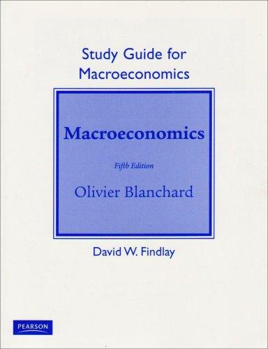 Macroeconomics  5th 2009 edition cover