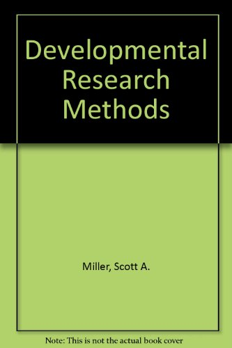 Developmental Research Methods   1987 9780132081337 Front Cover