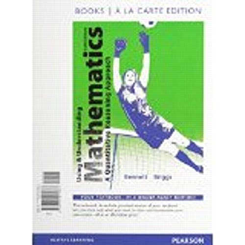 Using and Understanding Mathematics, Books a la Carte Edition  6th 2015 edition cover