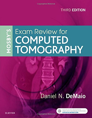 Mosby's Exam Review for Computed Tomography  3rd 2018 9780323416337 Front Cover