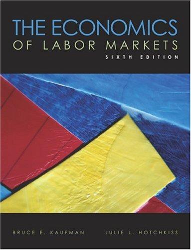 Economics of Labor Markets  6th 2003 edition cover